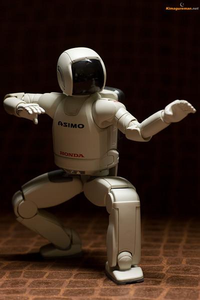 ホンダコムテック ASIMOアクションフィギュアII画像