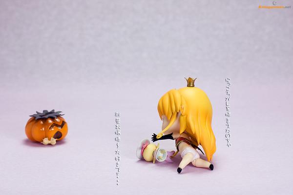 かぼちゃマシーンで、あいはぶこんとろーる☆ 4コマ漫画2画像