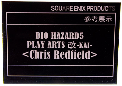 BIO HAZARD5 PLAY ARTS 改-KAI- <Chris Redfield>