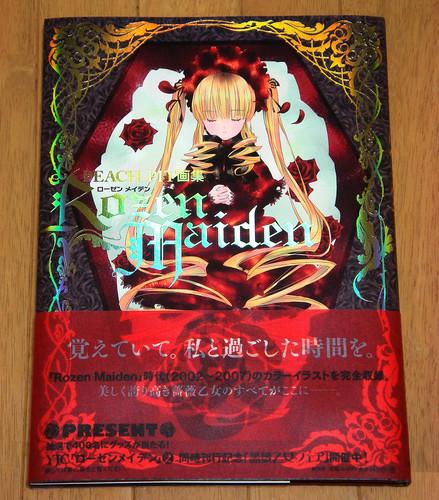 PEACH-PIT画集 「Rozen Maiden」表紙