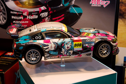 1/10 電動RCカーシリーズNo.442 初音ミク Studie GLAD BMW Z4(TT-01 TYPE-E) 右