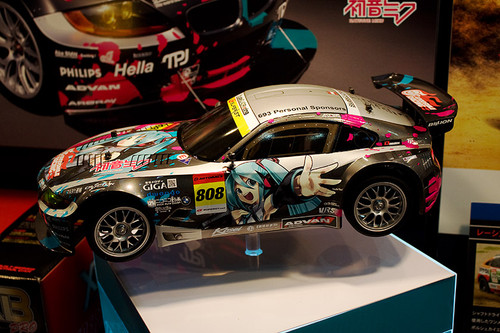 1/10 電動RCカーシリーズNo.442 初音ミク Studie GLAD BMW Z4(TT-01 TYPE-E) 左