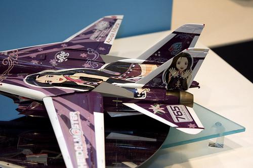 1/48 飛行機シリーズ F-14D トムキャット 「アイドルマスター 三浦あずさ」 尾翼アップ