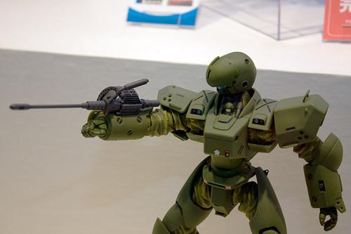 1/48スケール パトレイバーTHE MOVIE 99式強襲空挺レイバー ARL-99 上半身2