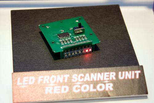 LEDユニット フロントスキャナーセット(レッド) 1