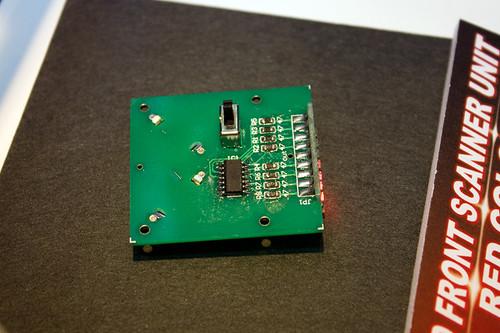 LEDユニット フロントスキャナーセット(レッド) 2