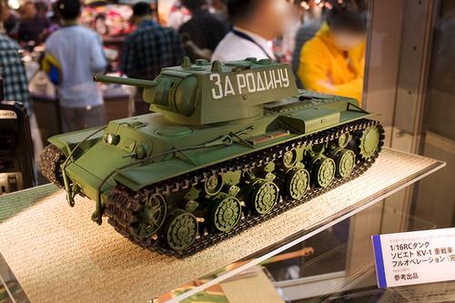 1/16RCタンク ソビエト KV-1 重戦車 全景
