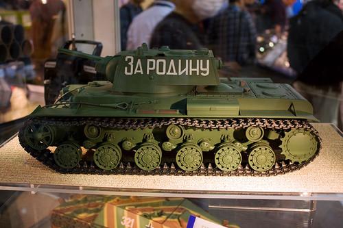 1/16RCタンク ソビエト KV-1 重戦車 左