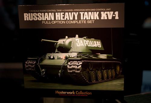 1/16RCタンク ソビエト KV-1 重戦車 ポップ