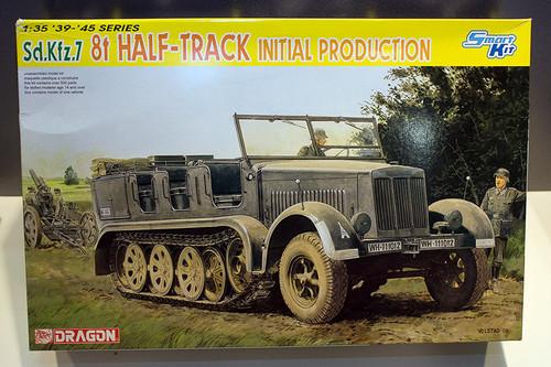 1:35 ドラゴンモデル ドイツ Sd.Kfz.7 8t ハーフトラック 極初期型 パッケージ