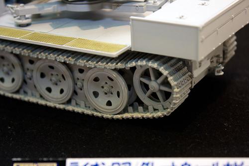 1/35 WWII 独 重国防軍牽引車 sWS 3.7cm Flak43 搭載型対空自走砲 左後アップ