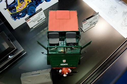 1:18 ダイキャスト製 シュコー メルセデス・ベンツ ウニモグ U401 消防車 前上