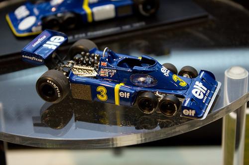 1:43 レジン製 レーブコレクション Tyrrell P34 1976年 ドイツGP #3 全景右