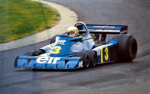 Tyrrell P34 1976年 ドイツGP #3 実車写真
