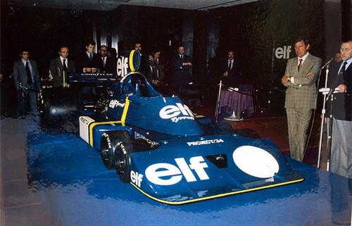 Tyrrell P34 1975年 プレゼンテーションカー 実車写真