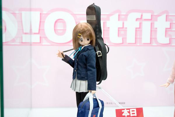 けいおん!アウトフィットシリーズ #2 唯のスクールバッグ&ギターケースセット