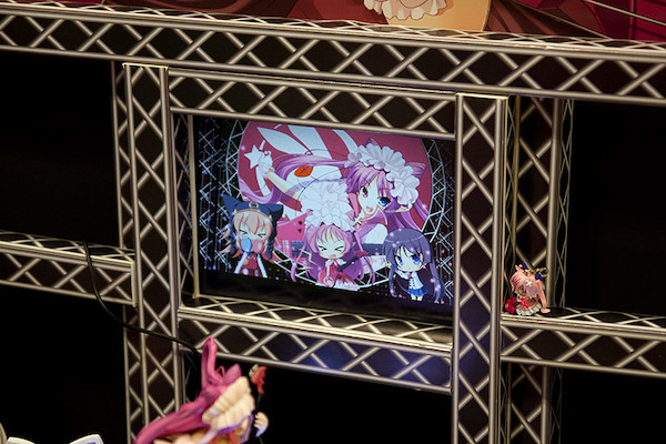 Chu×Chuアイドる2 チューノ・チュラム LIVE Ver. ブース液晶表示部
