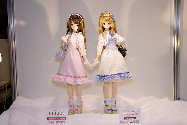 50cmドール ELLEN エレン 一般販売Ver. アゾンダイレクトショップ限定Ver.