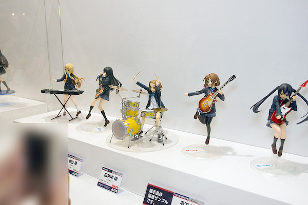 けいおん!フィギュア展示スペース 3