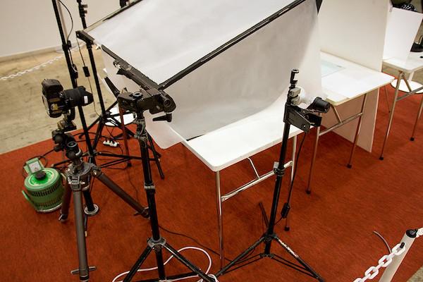 プロの撮影ブース 3