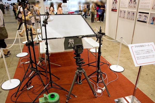 プロの撮影ブース 5
