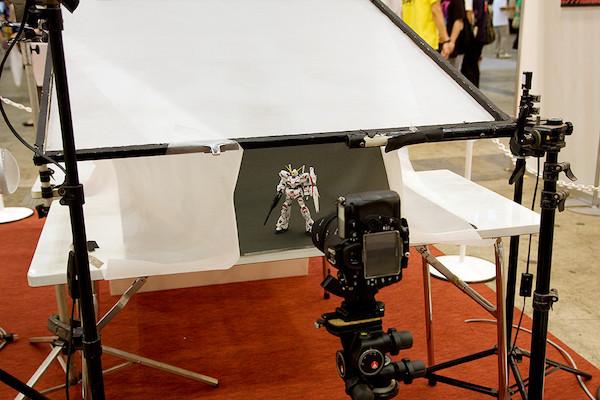 プロの撮影ブース 6