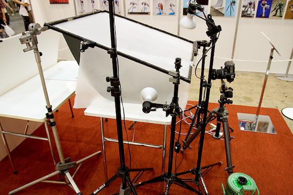 プロの撮影ブース 2