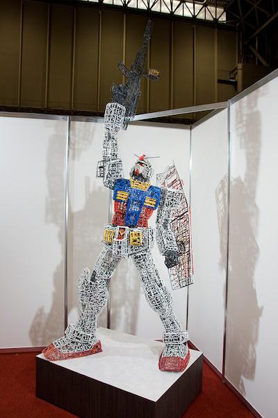 ガンプラ30周年記念コーナー特別展示 ランナーガンダム 2