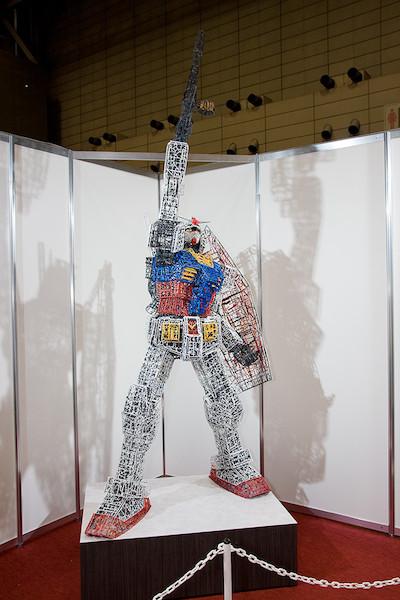 ガンプラ30周年記念コーナー特別展示 ランナーガンダム 3