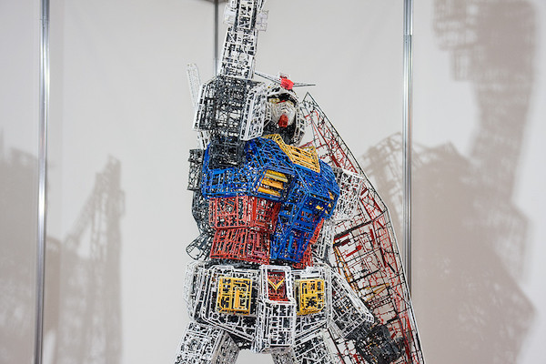 ガンプラ30周年記念コーナー特別展示 ランナーガンダム 4