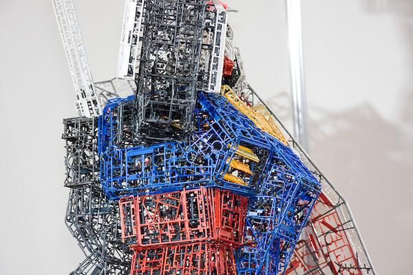 ガンプラ30周年記念コーナー特別展示 ランナーガンダム 5