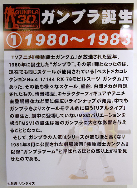 ①ガンプラ誕生 1980~1983 POP