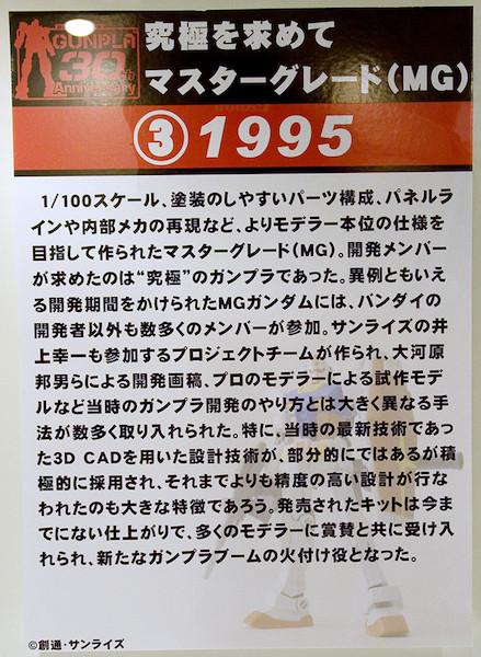 ③究極を求めて マスターグレード(MG) 1995 POP