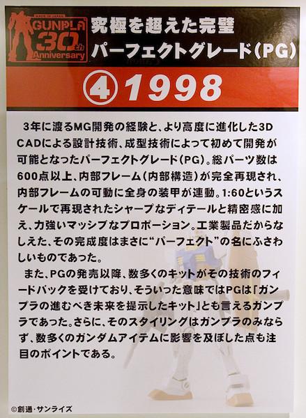 ④究極を越えた完璧 パーフェクトグレード(PG) 1998 POP