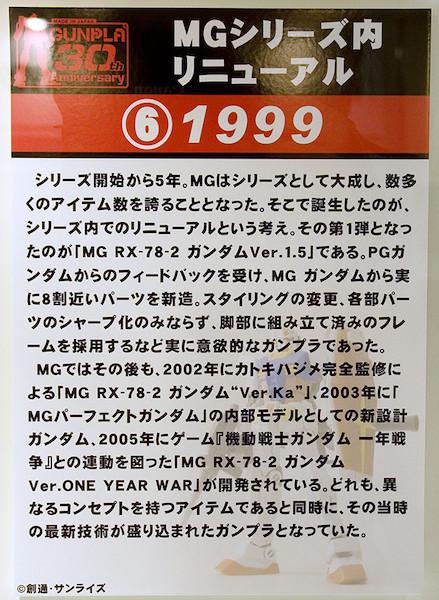 ⑥MGシリーズ内リニューアル 1999 POP