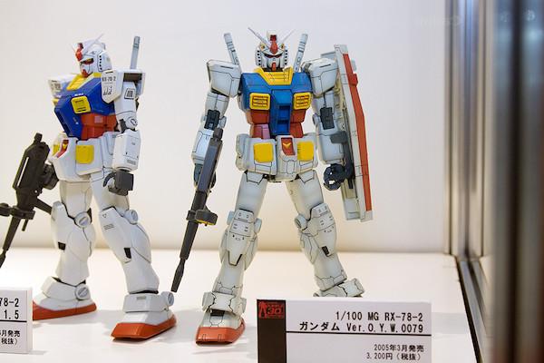 1/100 MG RX-78-2 ガンダム Ver.O.Y.W.0079