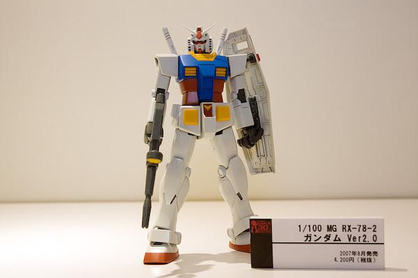 1/100 MG RX-78-2 ガンダム Ver.2.0 1