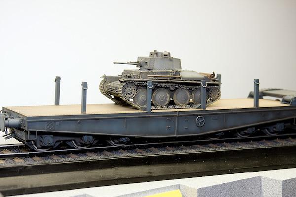 1/35 ドイツ軍用大型平台貨車 シムス80 4