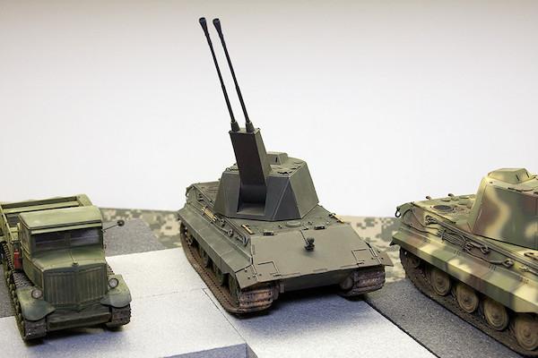 1/35 ドイツ軍 E-50対空戦車 ファルケ 1