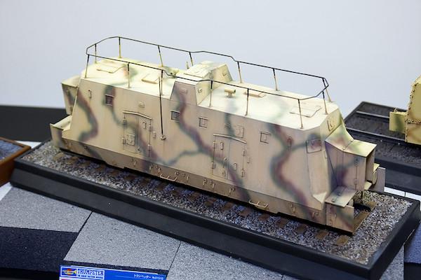 1/35 ドイツ装甲列車編成 BP-42/指揮通信車 1