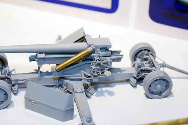 1/35 WWII 独 12.8cm PaK44対戦車砲(クルップ製造型) 4
