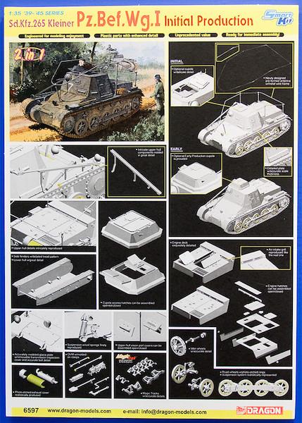1/35 '39-'45 I号指揮戦車 POP