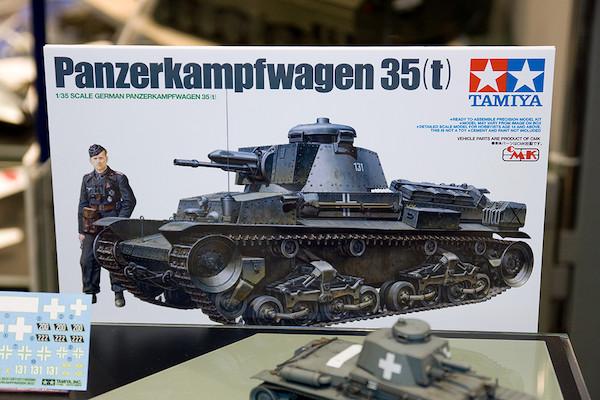 1/35 ドイツ軽戦車 35(t) イラスト