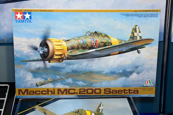 1/48 マッキ MC200 サエッタ イラスト