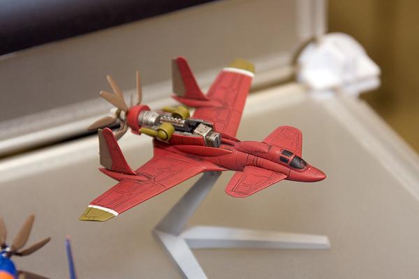 王立宇宙軍 オネアミスの翼 1/144 王立空軍主力戦闘機 第三スチラドゥ 5