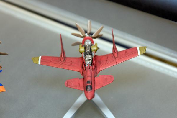 王立宇宙軍 オネアミスの翼 1/144 王立空軍主力戦闘機 第三スチラドゥ 4