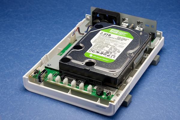 QNAP TS-112 HDD搭載