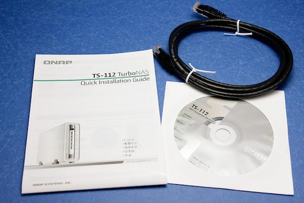 QNAP TS-112 付属品