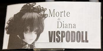 VISPODOLL Morte&Diana ネームプレート