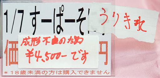 『1/7 すーぱーそに子』 ネームプレート
